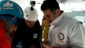 فیلم/ عملیات تیم امدادی در بالگرد اعزامی به منطقه حادثه سقوط هواپیما