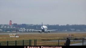 دانلود بلند شدن هواپیما Airbus Beluga از فرودگاه هامبورک