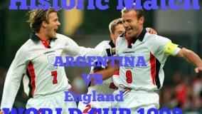 دانلود بازی تاریخی انگلیس-آرژانتین در جام جهانی 1998
