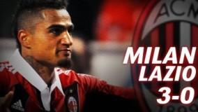 ویدیو/ بهترین بازی های میلان - لاتزیو / میلان3-0 لاتزیو