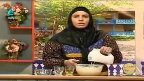 طرز تهیه - کیک یزدی دستور پخت