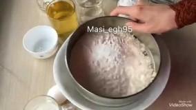طرز پخت کیک یزدی خانگی