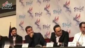 فیلم/ واکنش تهیه کننده «لاتاری» به سوال یک خبرنگار