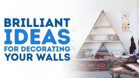 تغییر دکوراسیون ارزان وسریع دیوارها-دکوراسیون منزل عید 97