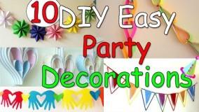 تغییر دکوراسیون برای عید نوروز و مهمونی با کاغذ