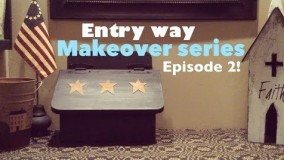 Quick Country Decorating Ideas! |Entryway Makeover |