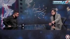 فیلم/ واکنش هومن سیدی به سوال رشیدپور درباره درگیری لفظی در نشست خبری