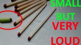 آموزش ساخت ترقه سیگاری-ساخت ترقه ساده