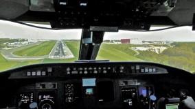 لندینگ هواپیمای CRJ-900