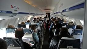 فیلم از داخل هواپیمای CRJ-200