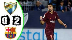 Malaga vs Barcelona 0-2 All Goals & Highlights - La Liga 10/03/2018
