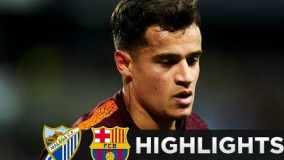 Malaga vs Barcelona 0-2 - All Goals & Highlights