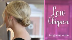 شینیون با موی کوتاه-مدل مو دخترانه برای عروسی