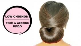 شینیون با موی کوتاه-مدل مو زنانه بسته