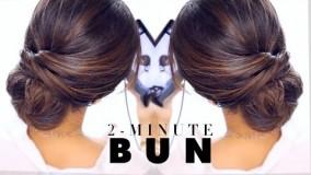 مدل شینیون برای موهای کوتاه-مدل مو زنانه اپارات