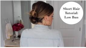 مدل شینیون برای موهای کوتاه-مدل مو زنانه اروپایی