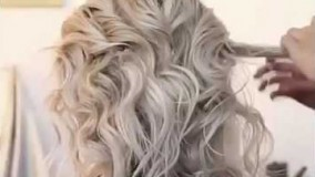 شینیون با موی کوتاه-مدل مو زنانه شیک و مجلسی