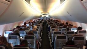 American 737-8 MAX / کابین مسافران
