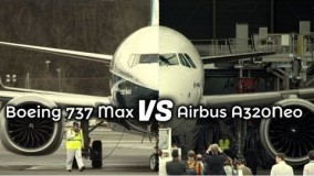 ویدیو مقایسهBoeing 737 MAX Vs Airbus A320 NEO