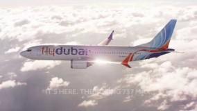 داخل هواپیمای فلای دوبیBoeing 737 MAX 8