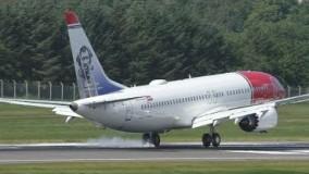 لندینگ و تیک آف Boeing 737 MAX 8