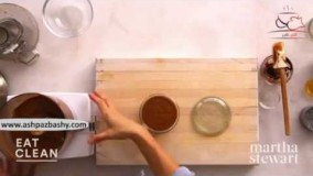 فیلم آموزشی طرز تهیه اسموتی کره فندق و شکلات