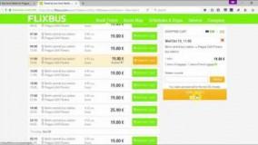 خرید آنلاین بلیط اتوبوس در اروپا