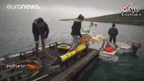 فیلم/ تحول بزرگ در اکتشافات اعماق آبها با ربات های زیردریایی هوشمند