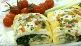 آموزش آشپزی آسان- املت حرفه ای
