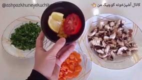 طرز تهیه سوپ قارچ و شیر