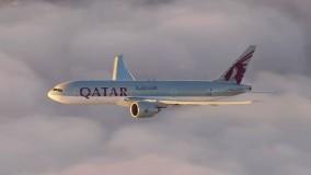 فیلم هواپیما مسافربریQatar Airways  Auckland, New Zealand