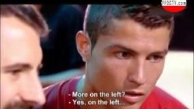 ویدیو/تست توانایی های کریس رونالدو مستند ورزش