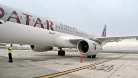 فیلم هواپیما مسافربری Qatar Airways  A321 First Class Doha To Dubai