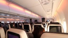 فیلم هواپیما مسافربریQATAR AIRWAYS A380-800