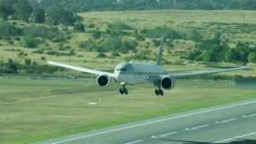 فیلم هواپیما مسافربریQatar Airways Canberra, Australia