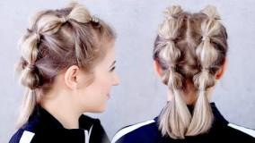 درست کردن موی کوتاه-مدل مو دخترانه ورزشی