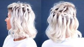 مدل مو دخترانه کوتاه-مدل بافت موی کوتاه 2