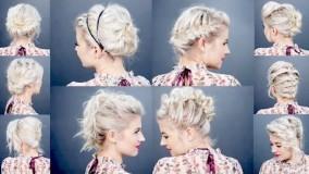 درست کردن موی کوتاه-مدل بافت موی کوتاه 2