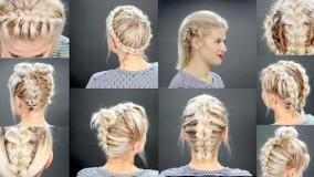 درست کردن موی کوتاه-مدل بافت موی کوتاه