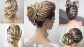 درست کردن موی کوتاه-مدل مو دخترانه مجلسی ساده