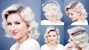 آرایش موی کوتاه-مدل مو زنانه قدیمی