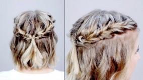 درست کردن موی کوتاه-بافت مو کوتاه 2