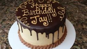 - آموزش درست کردن کیک تولد با روکش شکلات
