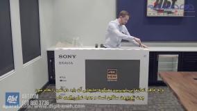 جعبه گشایی تلویزیون سونی X9000F مدل 2018