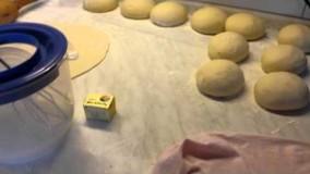 نان خانگی لواش