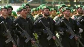 رژه  دانشجویان دانشگاه افسری ارتش