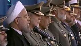 سخنراني روحاني در مراسم رژۀ روز ارتش، ۱۳۹۳/۱/۲۹