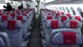 گزارشی از قسمت اکونومی بوئینگ787 هواپیمایی نروژ