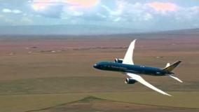 بوئینگ787 پرواز در آسمان پاریس