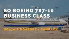 بوئینگ787 سنگاپور ایرلاینز